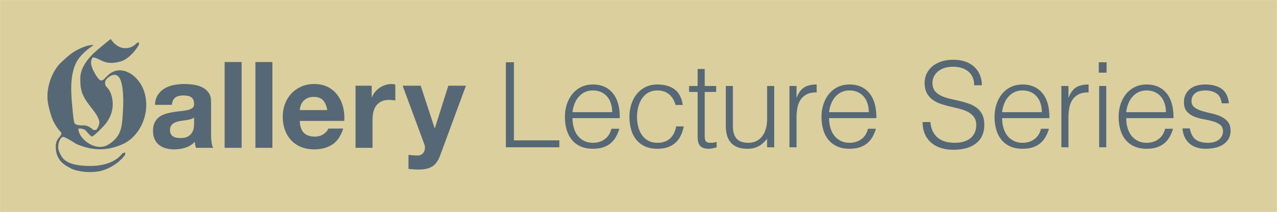Libraries Lecture Series graphic