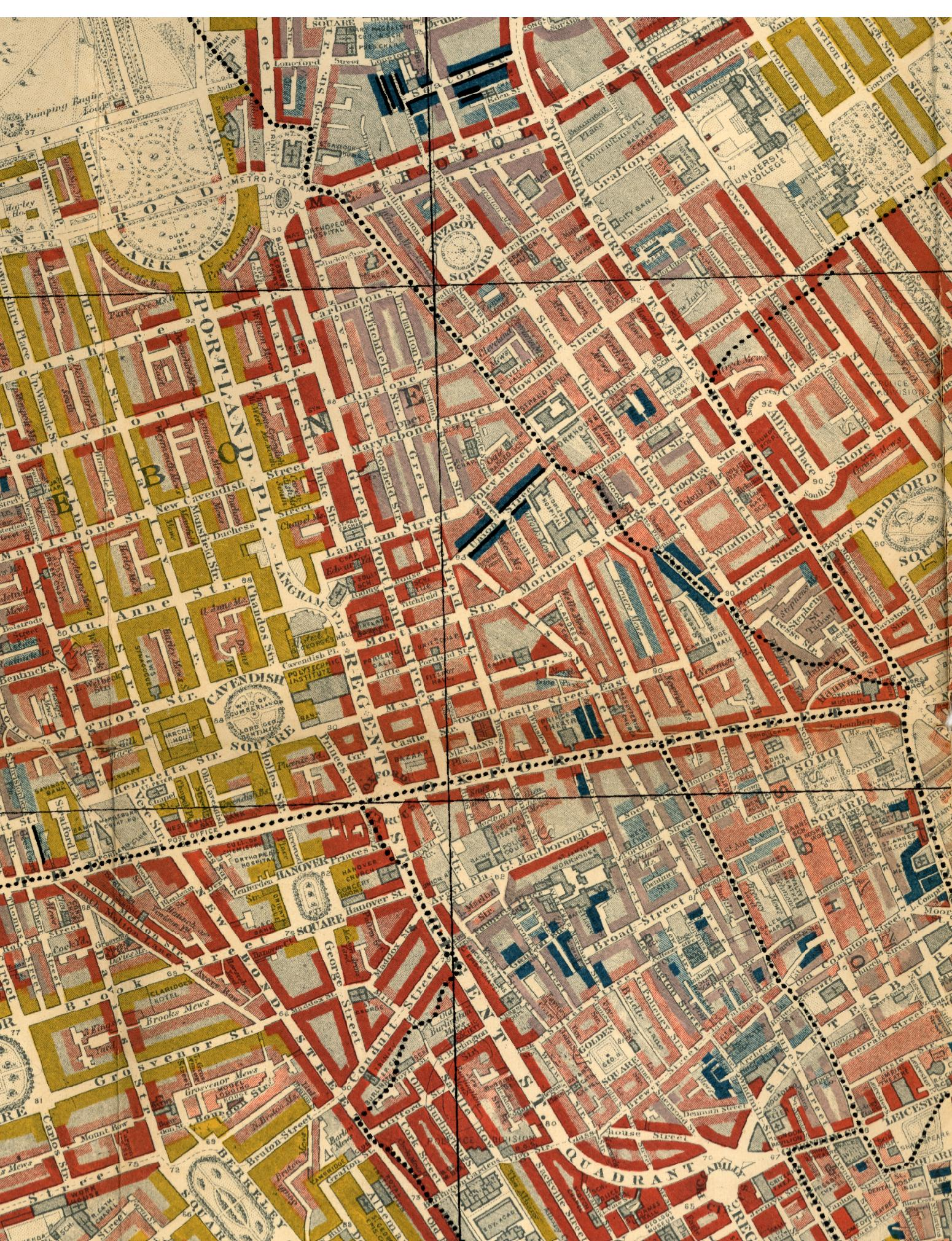 Extract of Charles Booth Poverty map